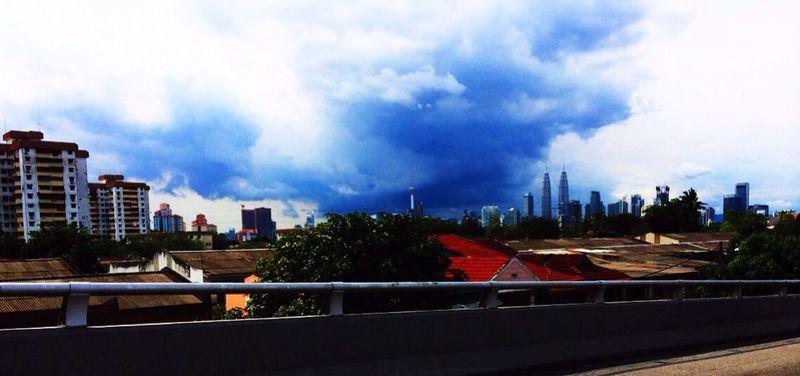 Kualalumpur Town Busy Jammed  huh!
