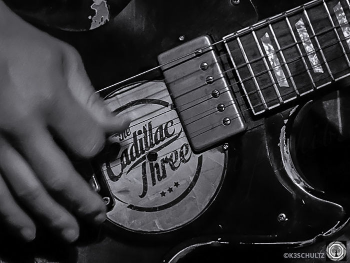 The Cadillac Three Concert Music Performance Musician Concert Photography Music Photography  Country Music Black And White The Cadillac Three Close-up Guitarist
