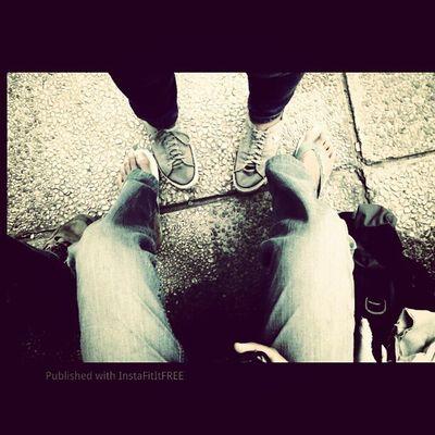 My feet, your feet. Dago Igfame Igiers Converse swallow Instaphoto instadaily photooftheday