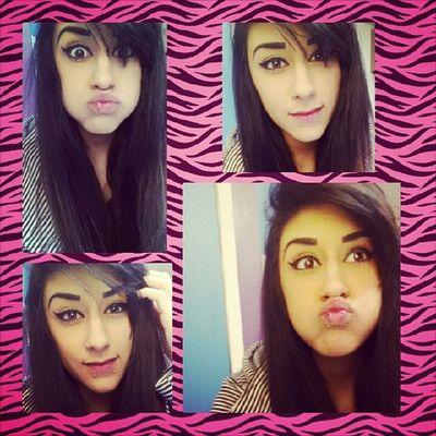Faces of Jazzyfresh . Instagram Work Blah longhair selfie noglasses