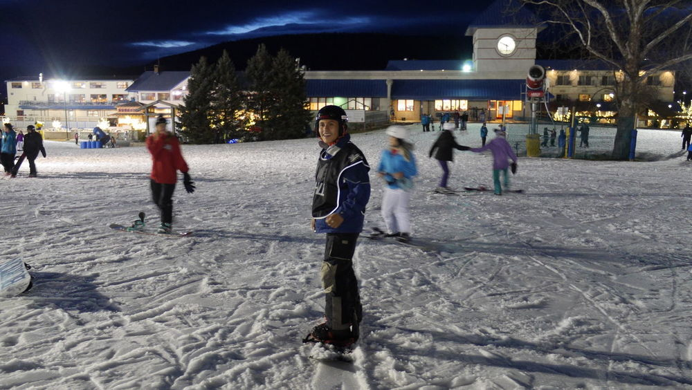 On the Chill participants on their first night on snow. Cold Temperature Illuminated Leisure Activity Night Non-profit Non-profit Organization Outdoors People Snow Snow ❄ Snowboard Snowboarding Winter Winter Sport Young Adult
