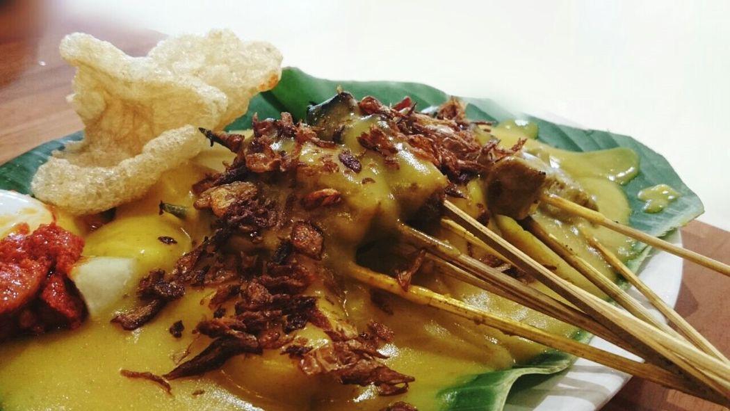 Good Food EyeEm Indonesia Padang Satay Foodphotography Dinner sate padang pariaman Yummy
