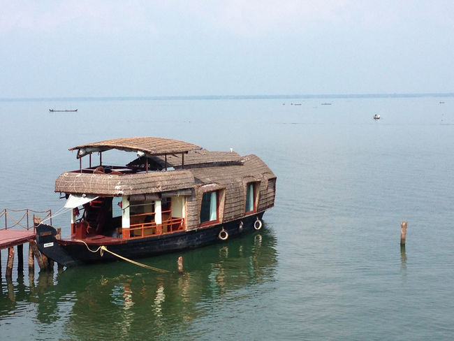 Acqua Barça Boat Imbarcazione India Kerala Mare Sea Ship Trip Viaggio Water