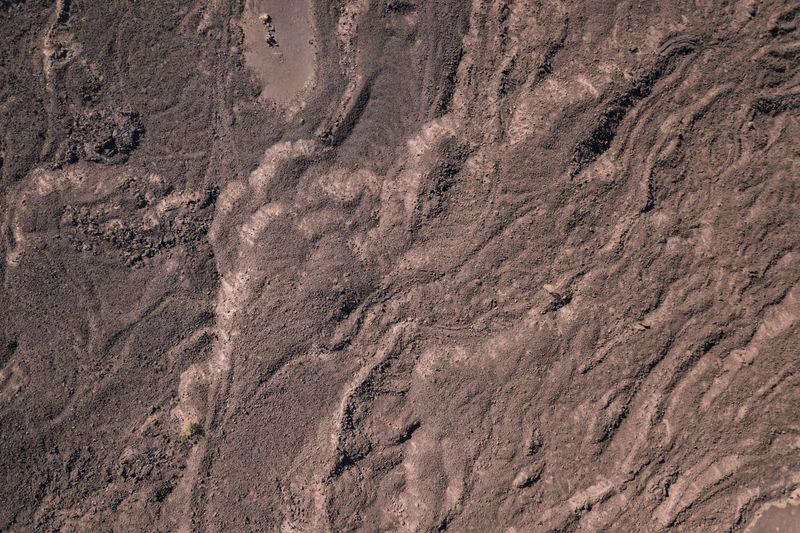Full frame shot of mud land