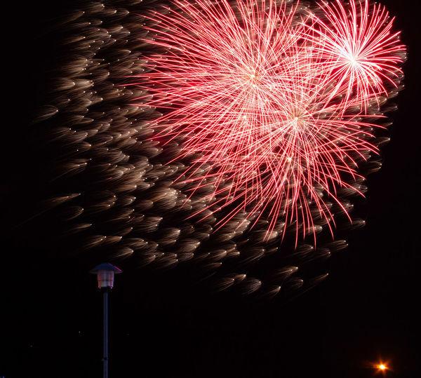 Firework Display Fireworks Cheltenham Race Course Round Table