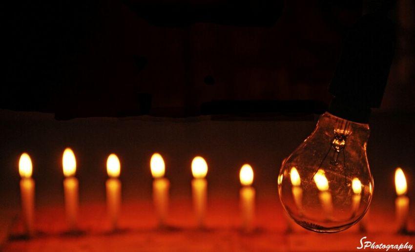 Energy Alternate Lights Candles Bycandelight Abstractart