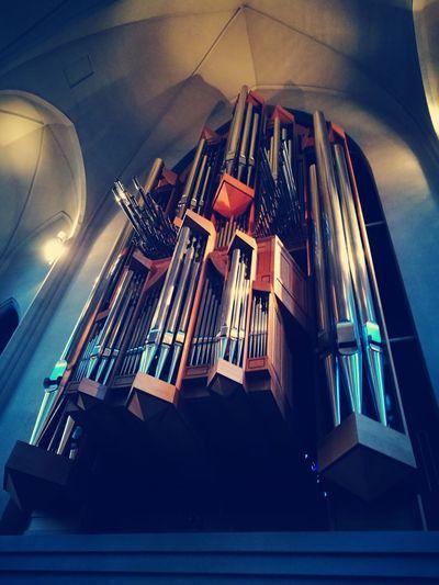 Hallgrímskirkja Music Musical Instrument Arts Culture And Entertainment Architecture Place Of Worship Church Iceland Reykjavik