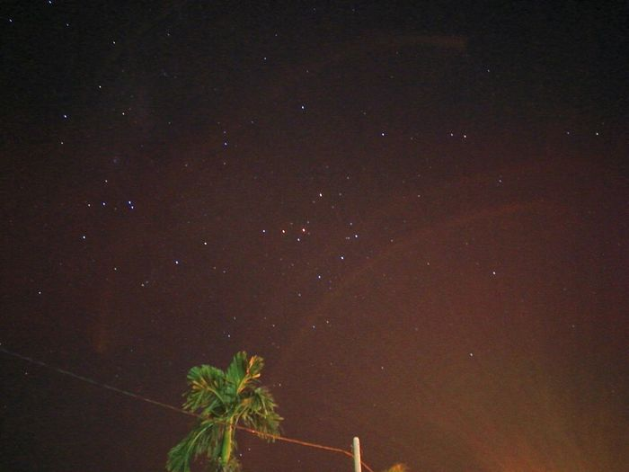 Amateurphotography Scorpius with Mars Long Exposure Looking Up for Stars