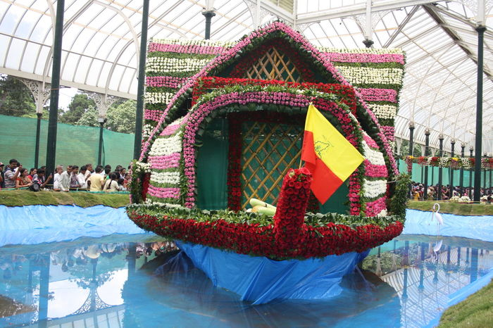 Architecture Bangalore Bangalore India Built Structure Day Flower Flower Show Indoors  Lalbagh Lalbaghgarden Large Group Of People People Water