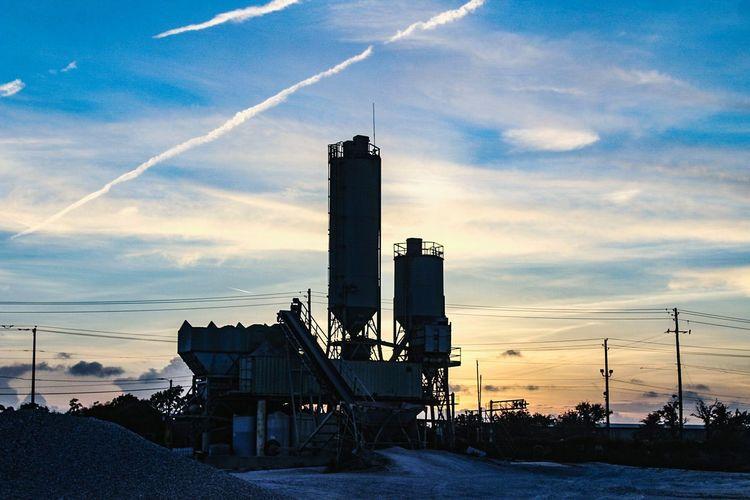 Industry Sunset