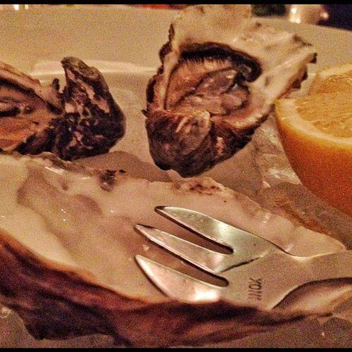 Ich habe es getan! Austern essen im November! Oysters Austern Hamburg Trific
