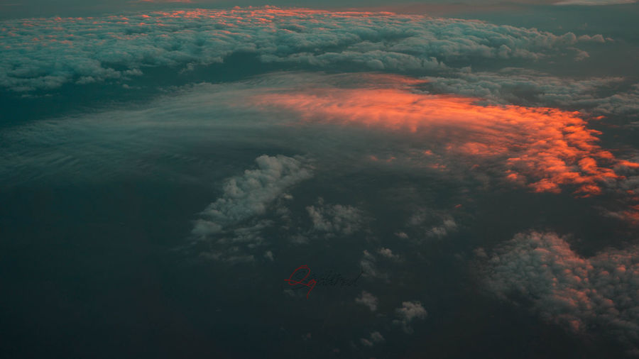 Aerial View Beauty In Nature Cloud - Sky Cloudscape Day Environment Full Frame Idyllic Motion Nature No People Outdoors Power Scenics - Nature Sea Sky Sunset #sun #clouds #skylovers #sky #nature #beautifulinnature #naturalbeauty #photography #landscape Tranquil Scene Tranquility Water