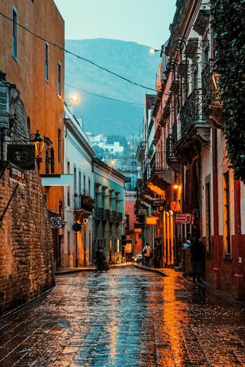 GUANAJUATO magic Architecture Building Exterior Built Structure Water Old Town Residential Building Outdoors City Sky Day