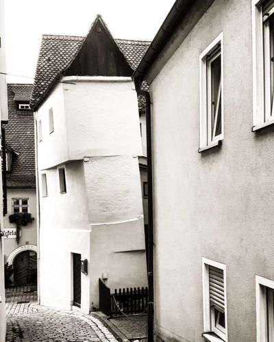 Crooked House Architecture Architektur Bavaria Bayern Blackandwhite Bnw Crook Crooked Crookedhouse Deutschland Franconia Franconianswitzerland Franken Germany Grafenberg Haus House Houses Häuser Krumm Krummeshaus Monochrome No People Schief SchiefesHaus