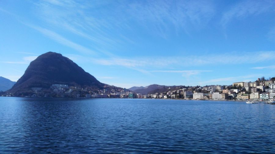 "Lugano lake landscape with ""monte brè"" from ""parco ciani"" Water Sky Peace Place Moment Relax Ticino Switzerland Lugano Lake Landscape Panorama Parco Ciani Monte Bre Blue City Mountain Water Sea Blue Mountain Peak Harbor Sky Calm TOWNSCAPE Coastline Bay Waterfront"