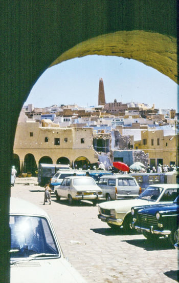 1978 Architecture Building Exterior Built Structure Car City City Of Ghardaïa Culture Dakar Famous Place History International Landmark Outdoors Place Of Worship Religion Spirituality Tower Travel Travel Destinations