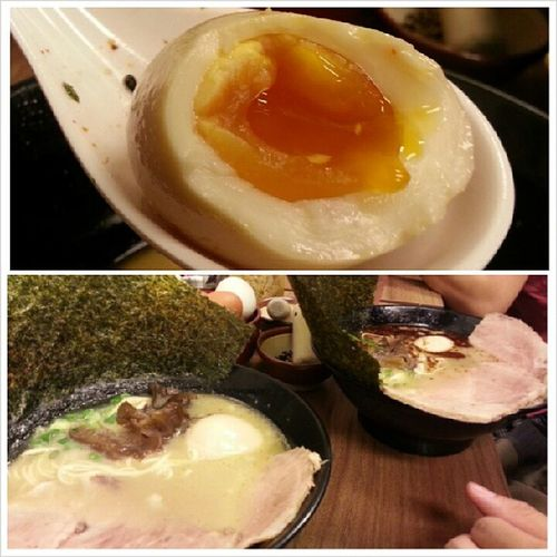Ramen for Dinner near my workplace with @jyangsaw . Ps: The service is bad though, probably will not go back there. Tonkatsukatsukei Dinner Badservice Theegglikeliushabao meattexturelikechewygum tsktsktsk