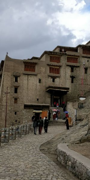 Leh palace Palace EyeEm Selects India Leh Mud Structure City Men Sky Architecture Building Exterior Built Structure Cloud - Sky Visiting Pilgrimage Royalty Royal Person Past Special Forces