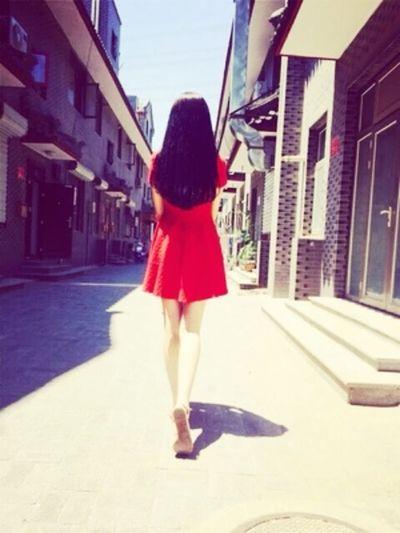 Hanging Out Enjoying Life Hi! That's Me Walking Around Enjoying The Sun Excercising walking on an old street🔅🔅