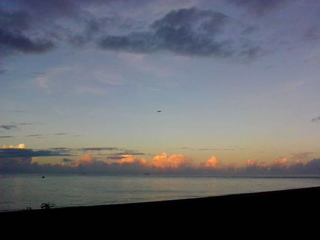 颱風即將來襲。 七星潭 太平洋 我喜歡黃昏,也喜歡 我拍黃昏給你看 。