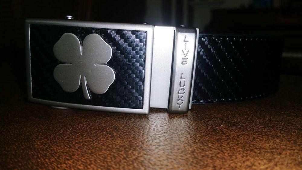 Leather Belt Black Clover Black New Belt  Angles