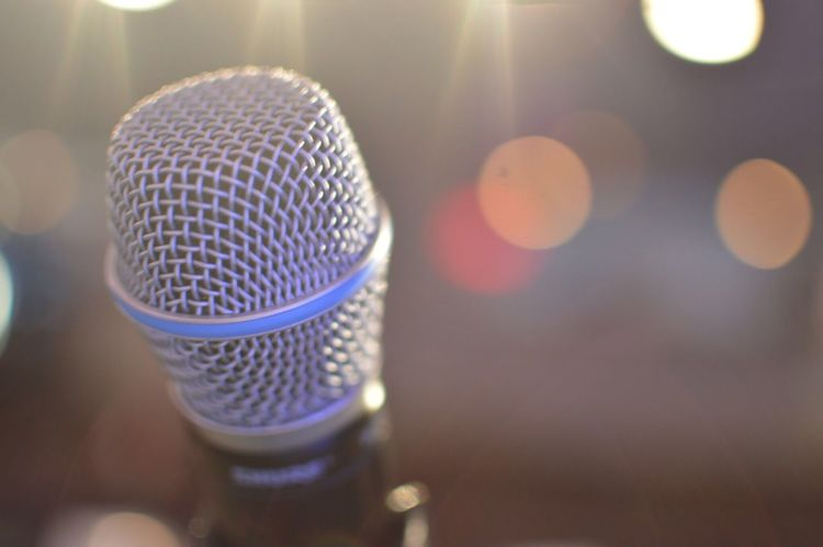 Microphone Stage Lights Audition