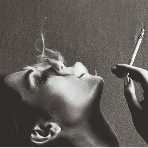 Woman Smoke Beauty