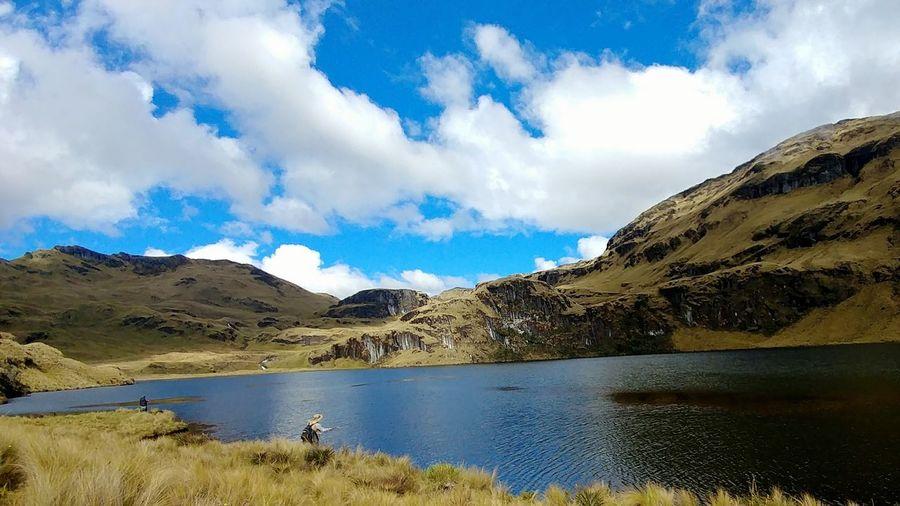 Ecuador🇪🇨 Ecuador Nature Photography Cuenca, Ecuador Cuenca -Ecuador Andes Mountains Andes Landscape Fishing Beauty In Nature Nature Sky Beautiful Day Sunlight Day Outdoors Sunny Day