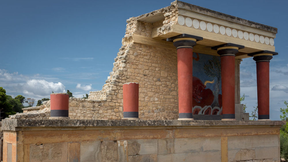 Ancient Architecture Architecture Crete History Knossos Knossos Palace Outdoors Past