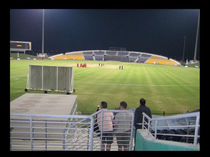 Sheik Zaheed Stadium , Abu Dhabi Cricket Field