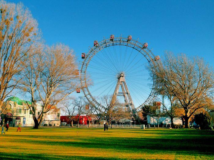 Vienna Prater Austria Ferris Wheel Outdoors Park Sky Trees EyeEmNewHere Your Ticket To Europe