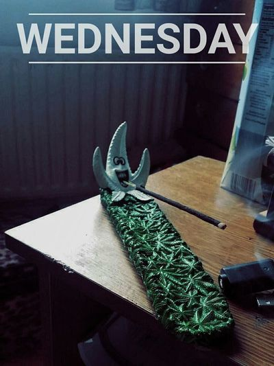 Weed Student Student Life Wednesday Relaxing Incense Rolling Joints Aint No Problem