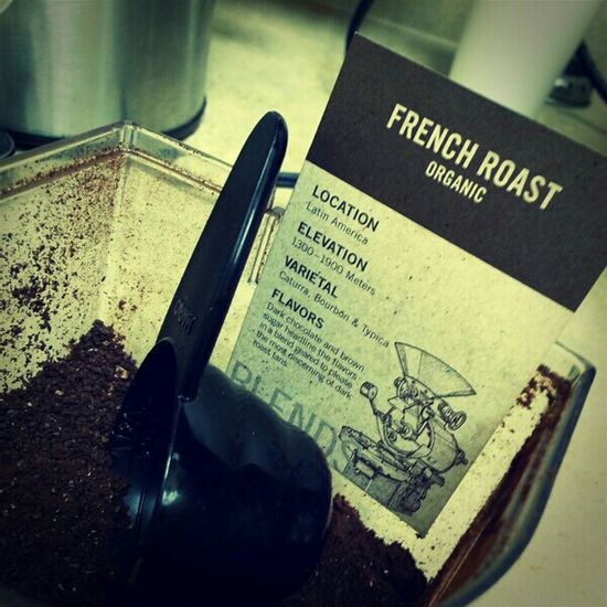 bring your grinder to work day! Coffee Wake Up Pour Over Stumptown Hario French Roast