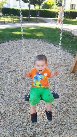 Mein Sohn sein Lachen ist mein Lebenselexier