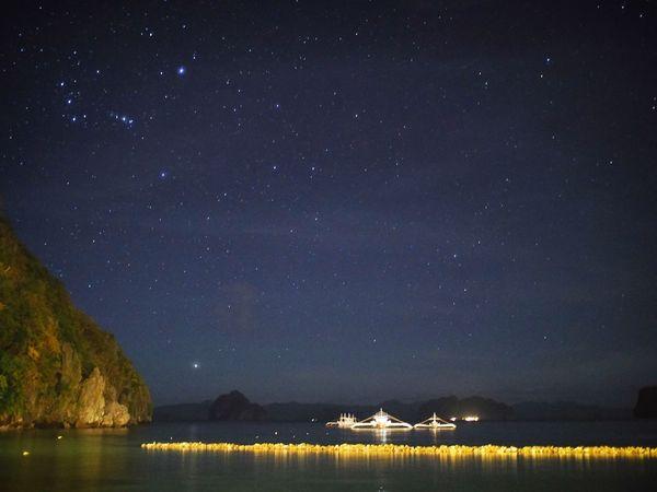 Starry Night Elnido Star Filled Night Star