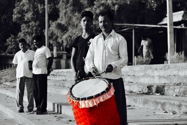 The drums of festival Music Musical Instrument Arts Culture And Entertainment Only Men Men People Outdoors Day Black And White Photography Blacknwhite Blackandwhitephotography Blackandwhite Photography Black & White Coloursplash Colourburst Colorsplash Colorsplash_theworld Colorsplurge Colorsplash_of_our_world