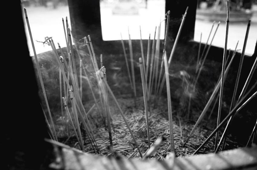 Incense detail, Po Lin Monastery, Hong Kong. Hong Kong Incense Blackandwhite
