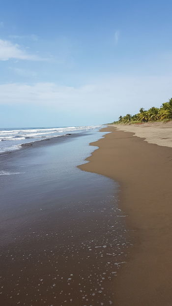 Beach Sea Beauty In Nature Outdoors Horizon Over Water Beach Photography Waves Palo Seco Costa Rica❤