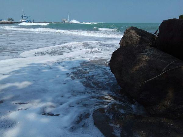 Water Sea Wave UnderSea Beach Astrology Sign Beauty Sand Blue Sea Life Rocky Coastline Tide Rushing Rugged Coast Rock Formation Surf Coastal Feature Coastline Low Tide