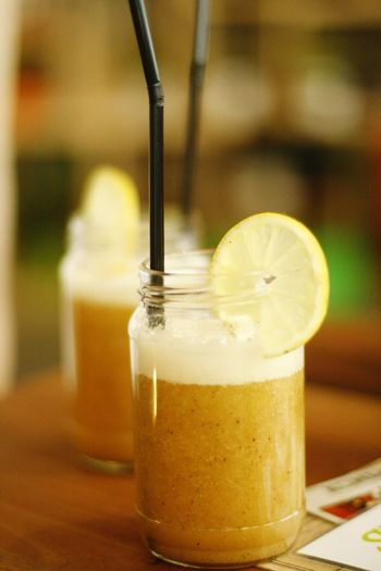 Orange Orange Color Orange Juice  Fruit Organic Food Organic Fruits Smoothie Banana Banana Smoothie Mason Jar Cafe Breakfast Morning Warm Warm Colors