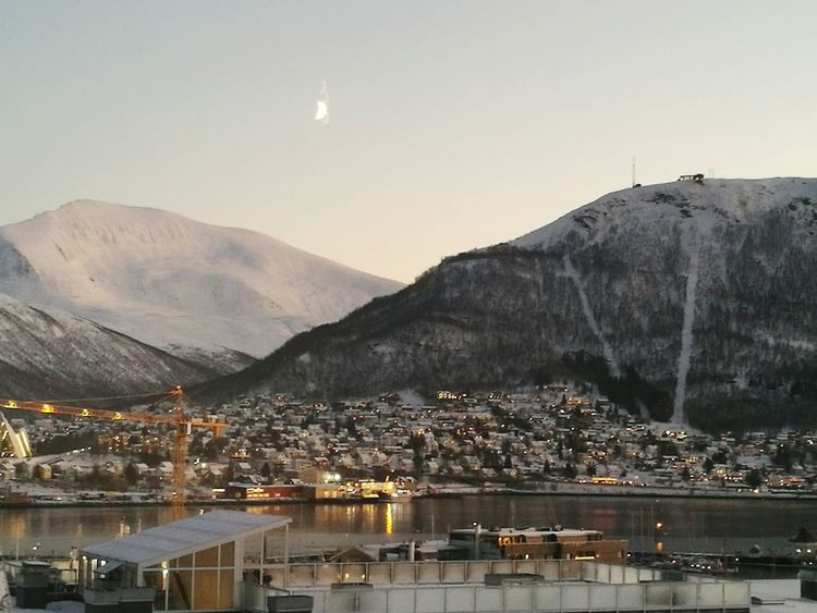 Tromsø Daylight Mountain Articcircle