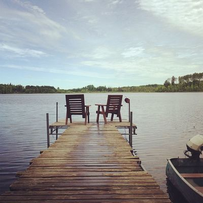 Just got up too my cabin today :)