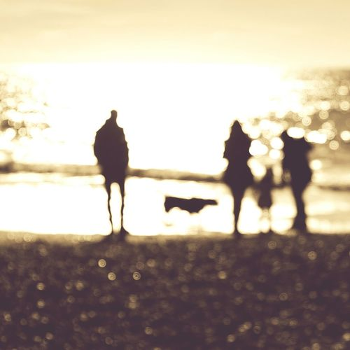 .:::memories:::. Silhouette People Sky Water Nature Bournemouth OutOfFocusPerfection Outoffocus