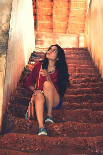 Be. Ready. Love ♥ Goa Memories Only Women Beautiful Woman Agudafort 2017 Believe In Yourself ❤