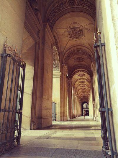 Photo faite depuis la cours du carousel du Louvre First Eyeem Photo