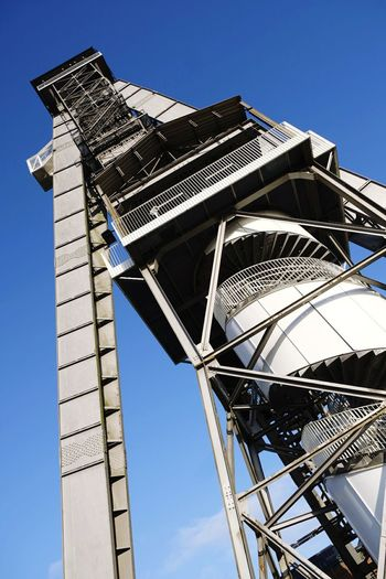 #Mine #minetower Low Angle View Architecture Built Structure Sky Day No People Building Exterior Outdoors Clear Sky