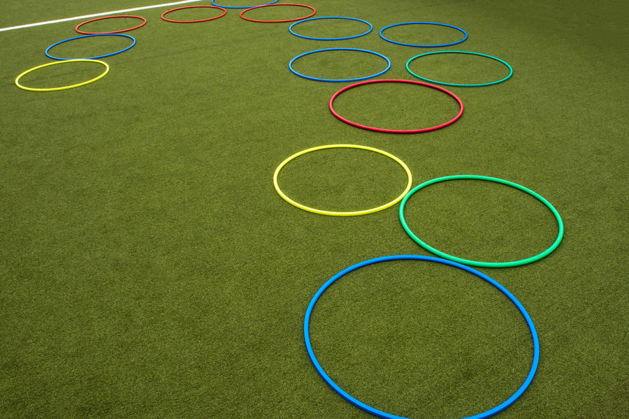 Circle Court Games Grass Childhood Circle Circles Circles Pattern Day Game Go-west-photography.com Grass Green Color Hoola Hoop Hoolahoop No People Outdoors Ring Rings Soccer Soccer Field Sport