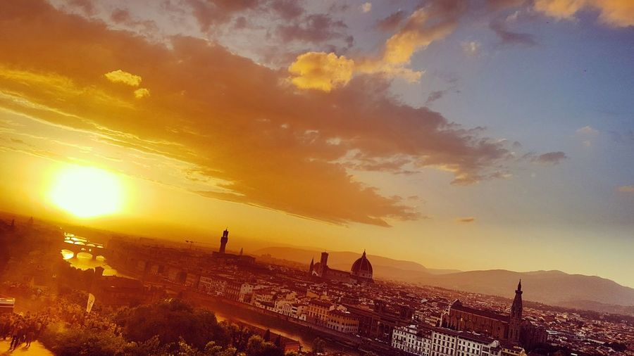 43 Golden Moments Florence Italy Moments Memories NatureIsBeautiful Golden Sky Golden Hour Golden Moment