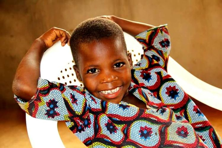 Zaïro Burkina Faso Africa Portrait Kid Kids Traveling Travel Smile That Smile