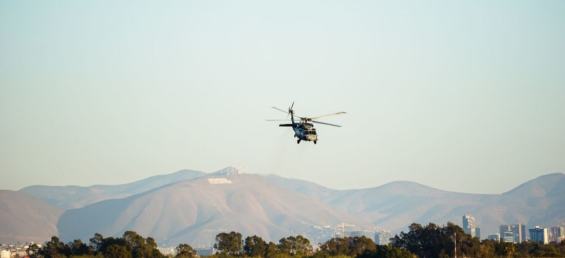 Us navy helicopter, mh-60 seahawk - mexico in the background